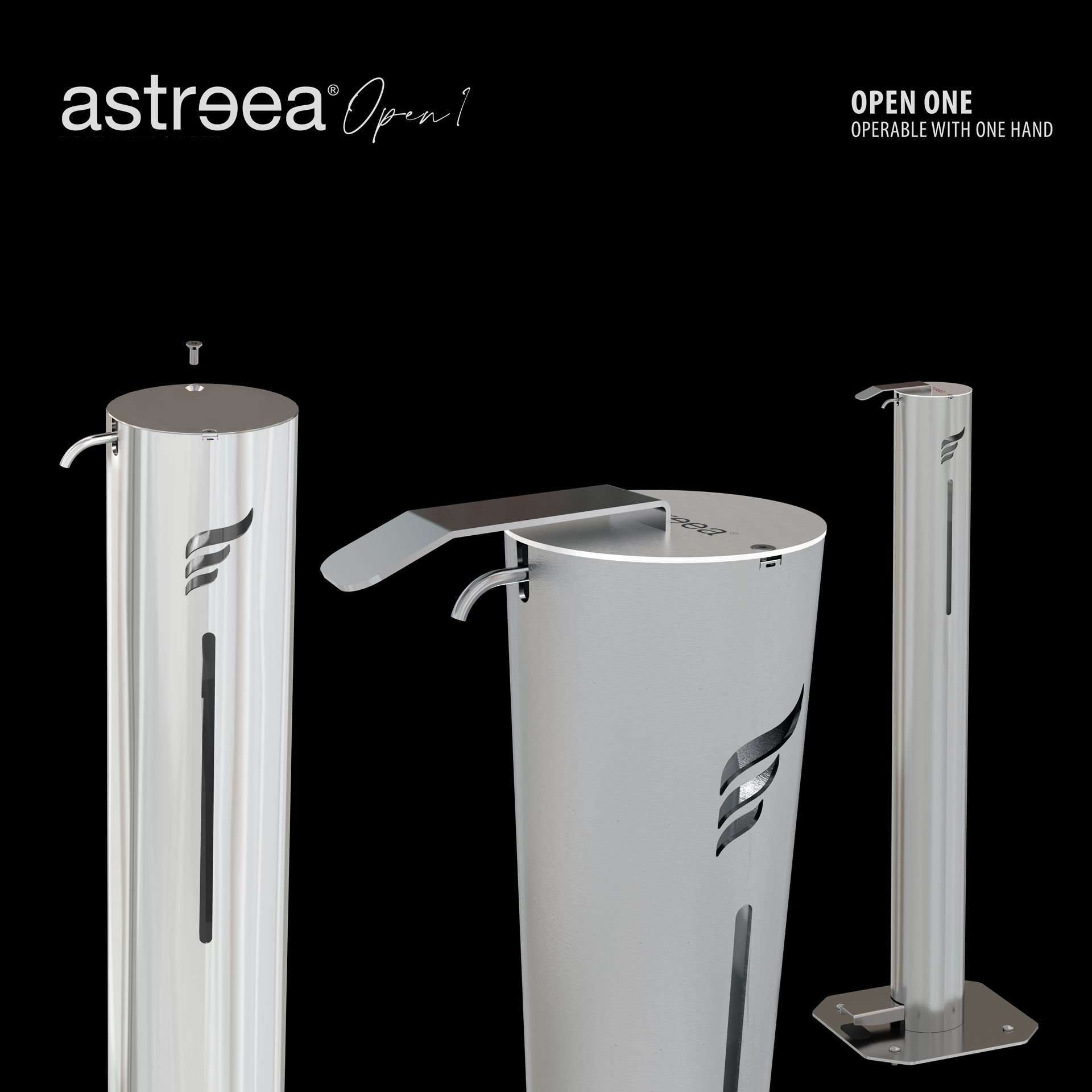 Astreea® Open. Because we care!