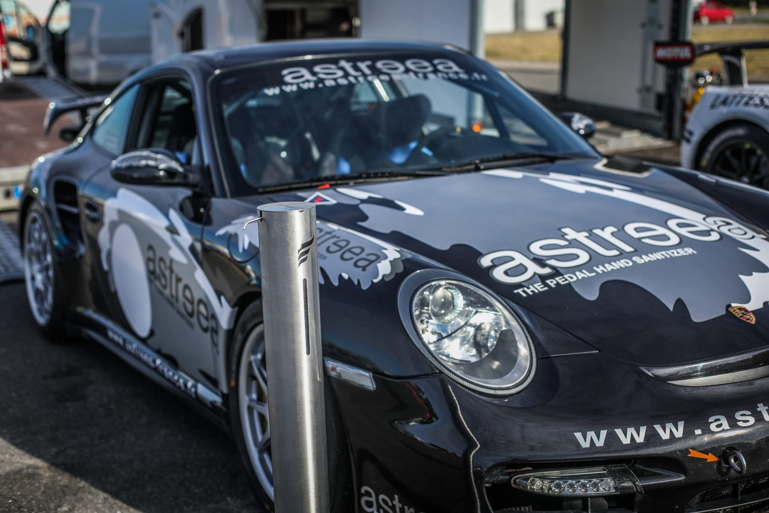Astreea's Porsche GT2 purrs its way to the podium, in a wild hill climbing race in France!