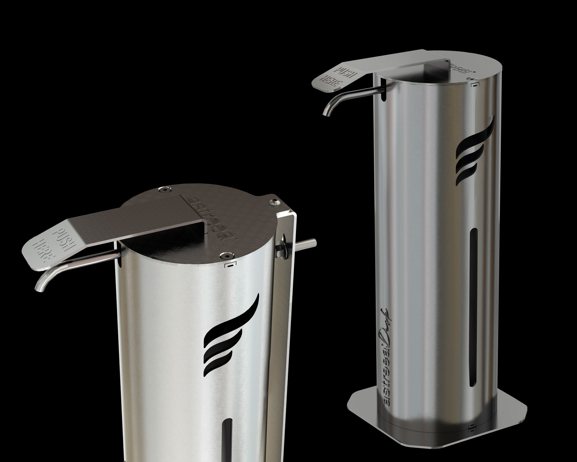 The Astreea® Desk and Wall dispensers are here!